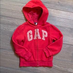 GAP Girls fleece zip up size 5T